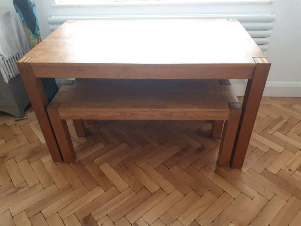 Cargo Hahamilton Dining Table And 2 Hamilton Benches (View 17 of 25)
