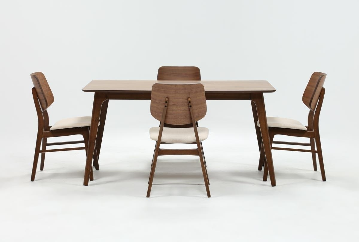 Carly 5 Piece Rectangle Dining Set (View 1 of 25)