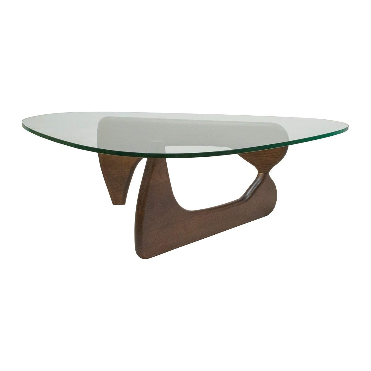 Carly Triangle Tables In Popular Amazon: Mod Made Tribeca Coffee Table, Black: Kitchen & Dining (View 6 of 25)
