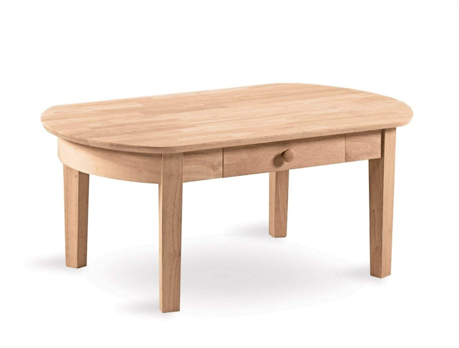 Carly Triangle Tables In Recent Amazon: International Concepts Ot 5C Phillips Oval Coffee Table (View 8 of 25)