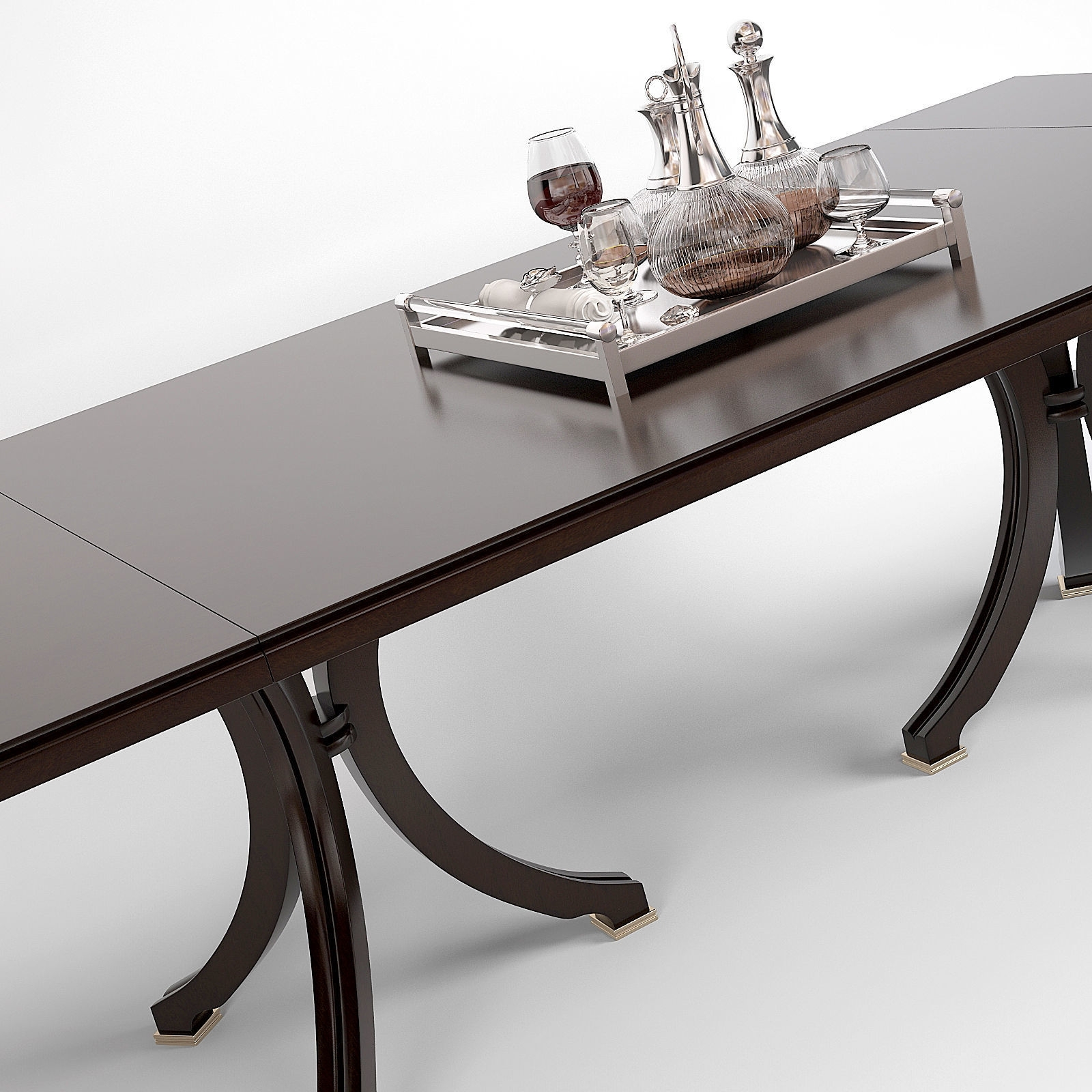 Cgtrader Throughout Vienna Dining Tables (View 3 of 25)