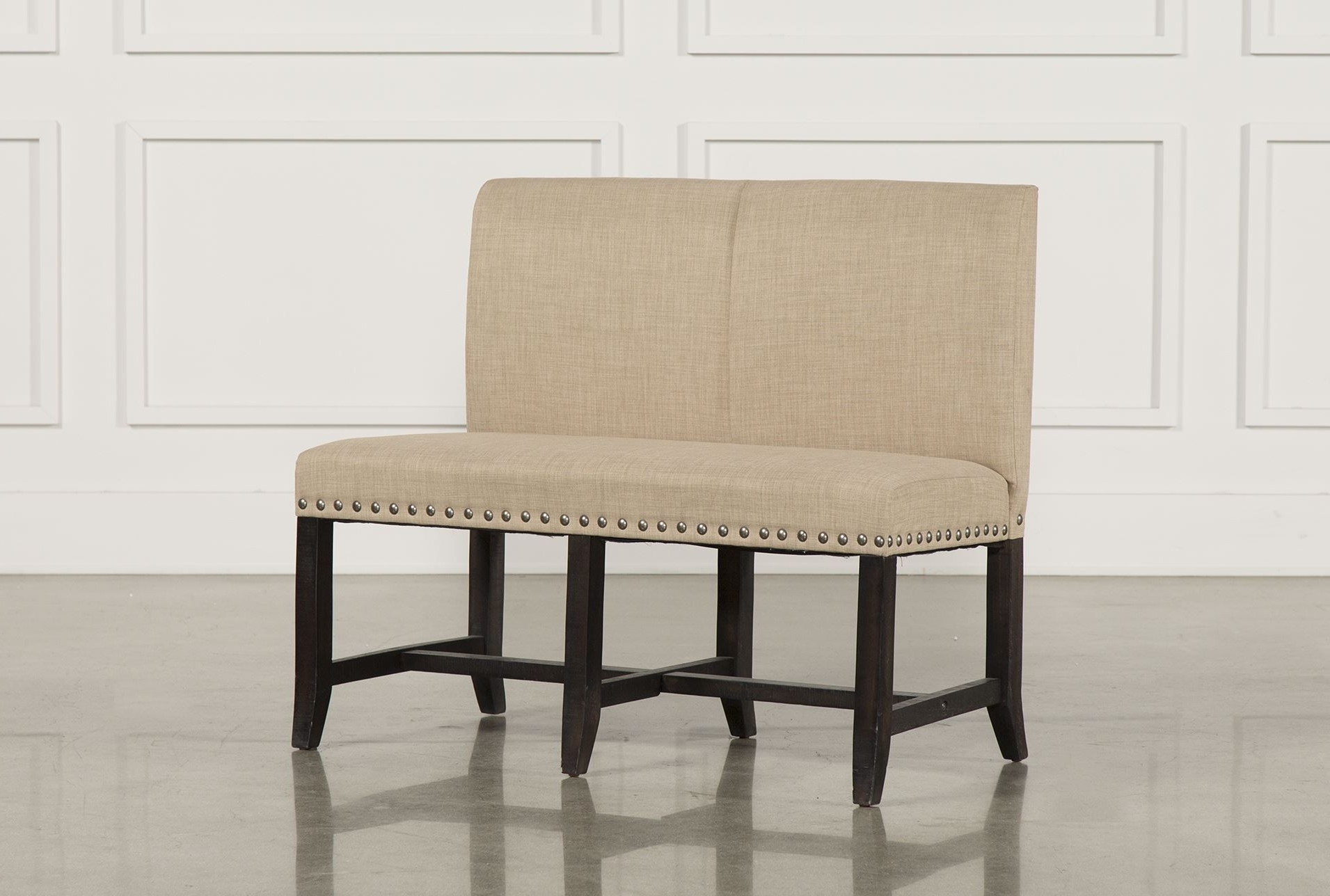 Chair : High Back Upholstered Bench Beautiful Chair Cool Upholstered For Fashionable Jaxon 6 Piece Rectangle Dining Sets With Bench & Uph Chairs (View 4 of 25)