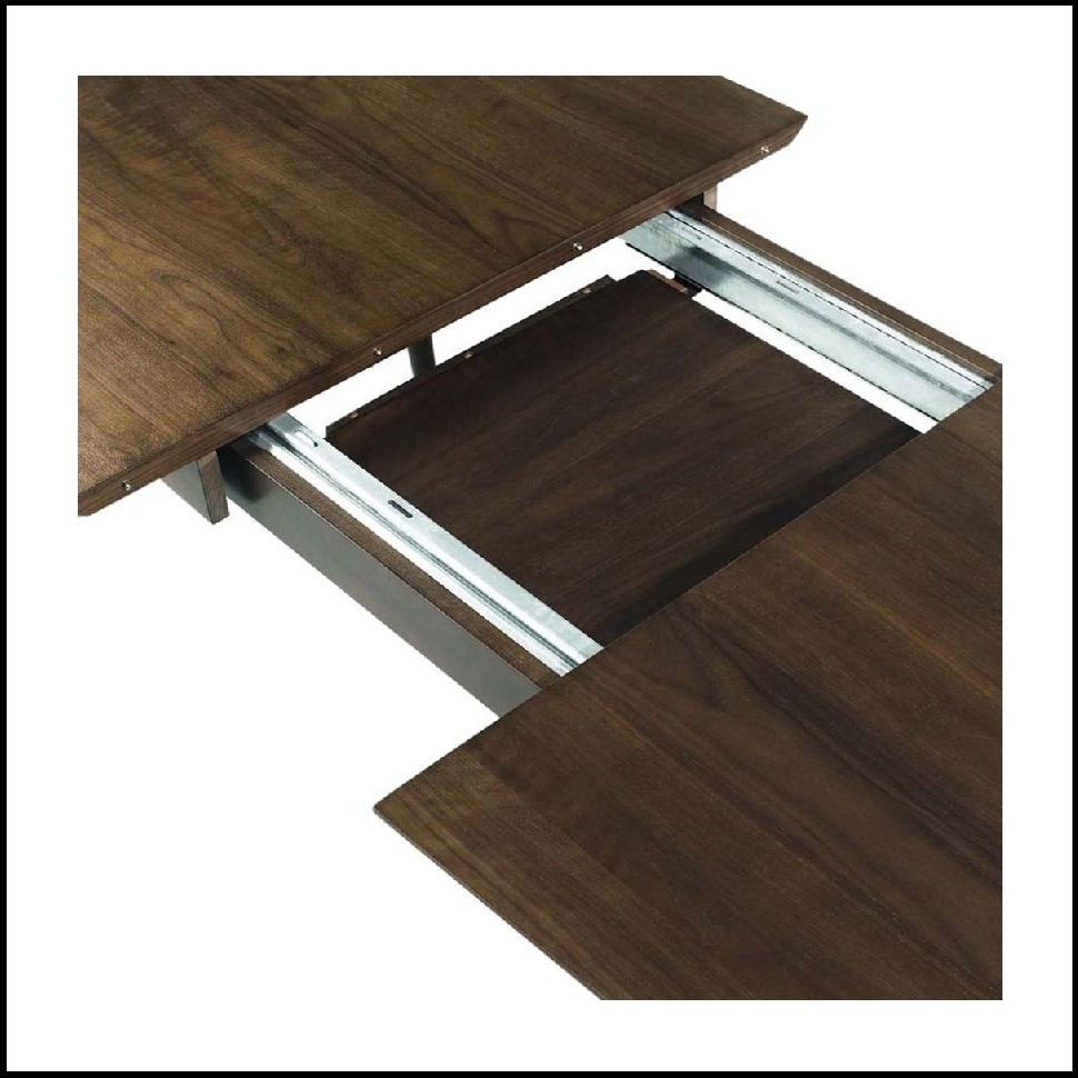 Chandler Extension Dining Tables Inside Most Recently Released Wonderfull Case Cross Extending Dining Table Heal With Extension (View 8 of 25)