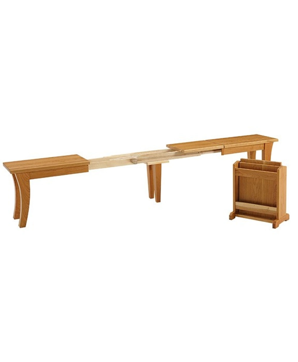 Chandler Extension Dining Tables Inside Well Liked Chandler Extend A Bench – Amish Direct Furniture (View 7 of 25)
