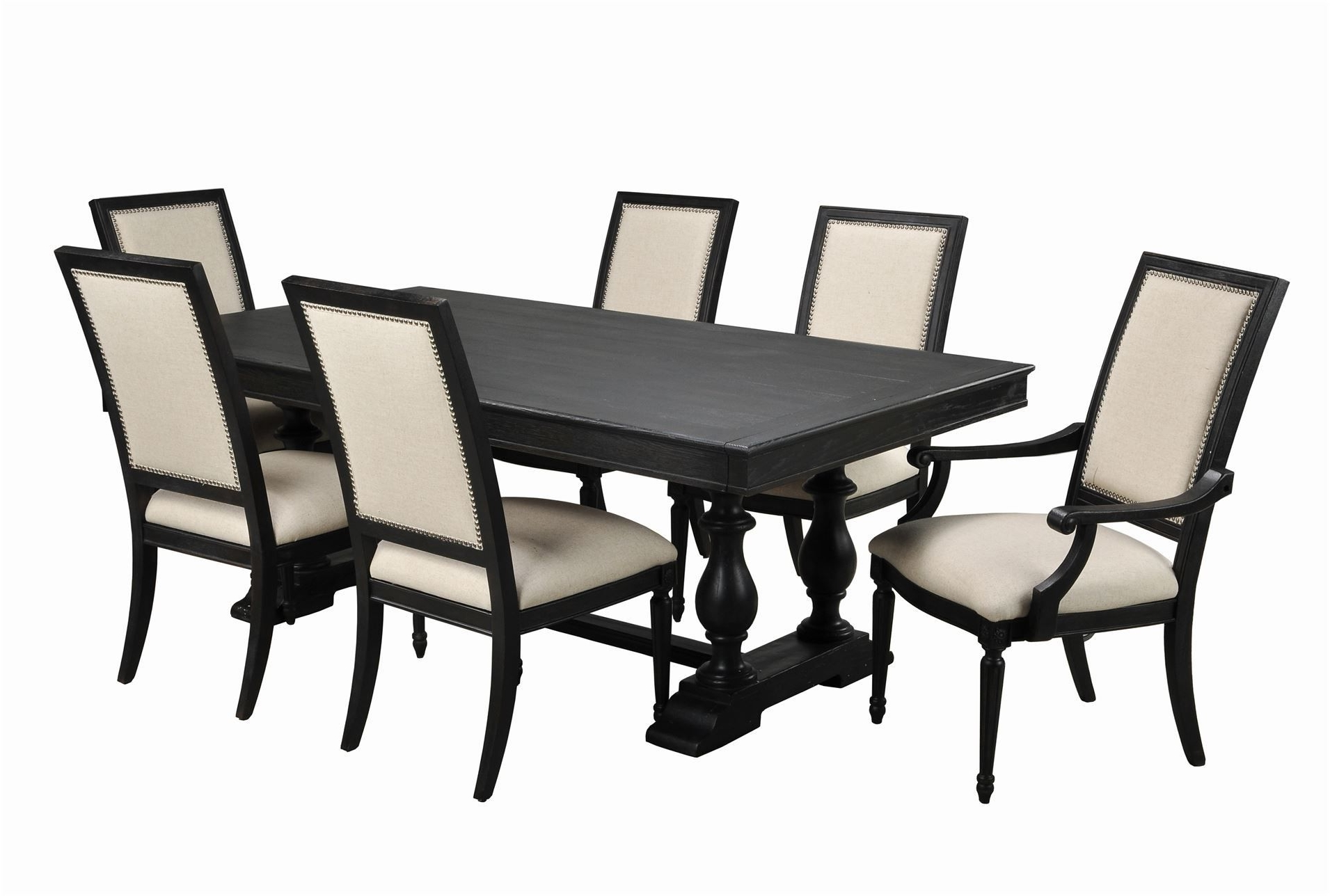 Chapleau 7 Piece Extension Dining Set (View 7 of 25)