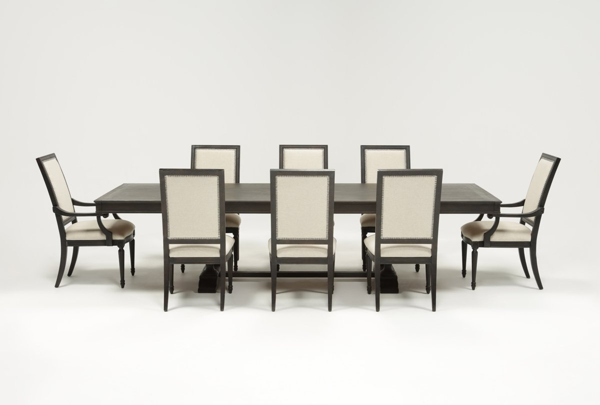 Chapleau 9 Piece Extension Dining Set (View 4 of 25)