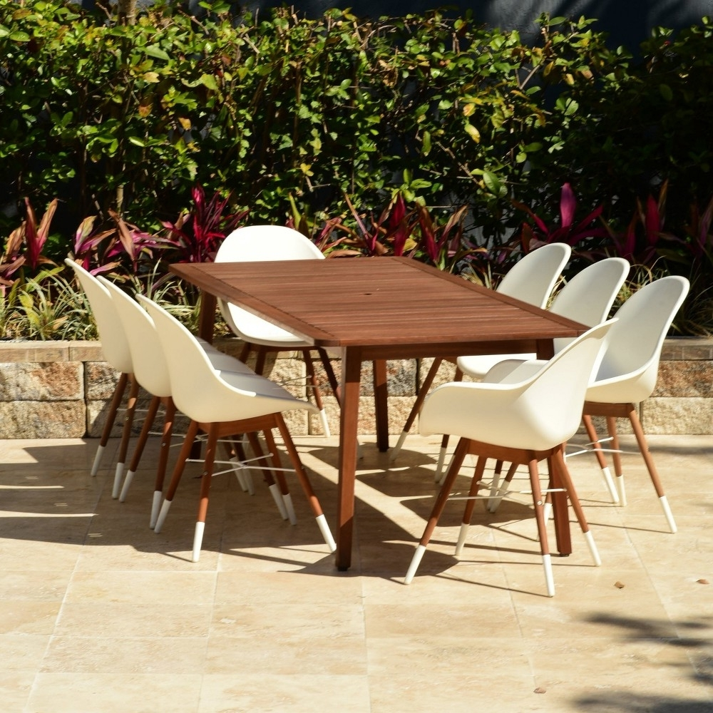 Chapleau Ii 7 Piece Extension Dining Tables With Side Chairs With Regard To Most Recently Released Have To Have It. Harmonia Living Urbana Patio Dining Set – (Gallery 15 of 25)