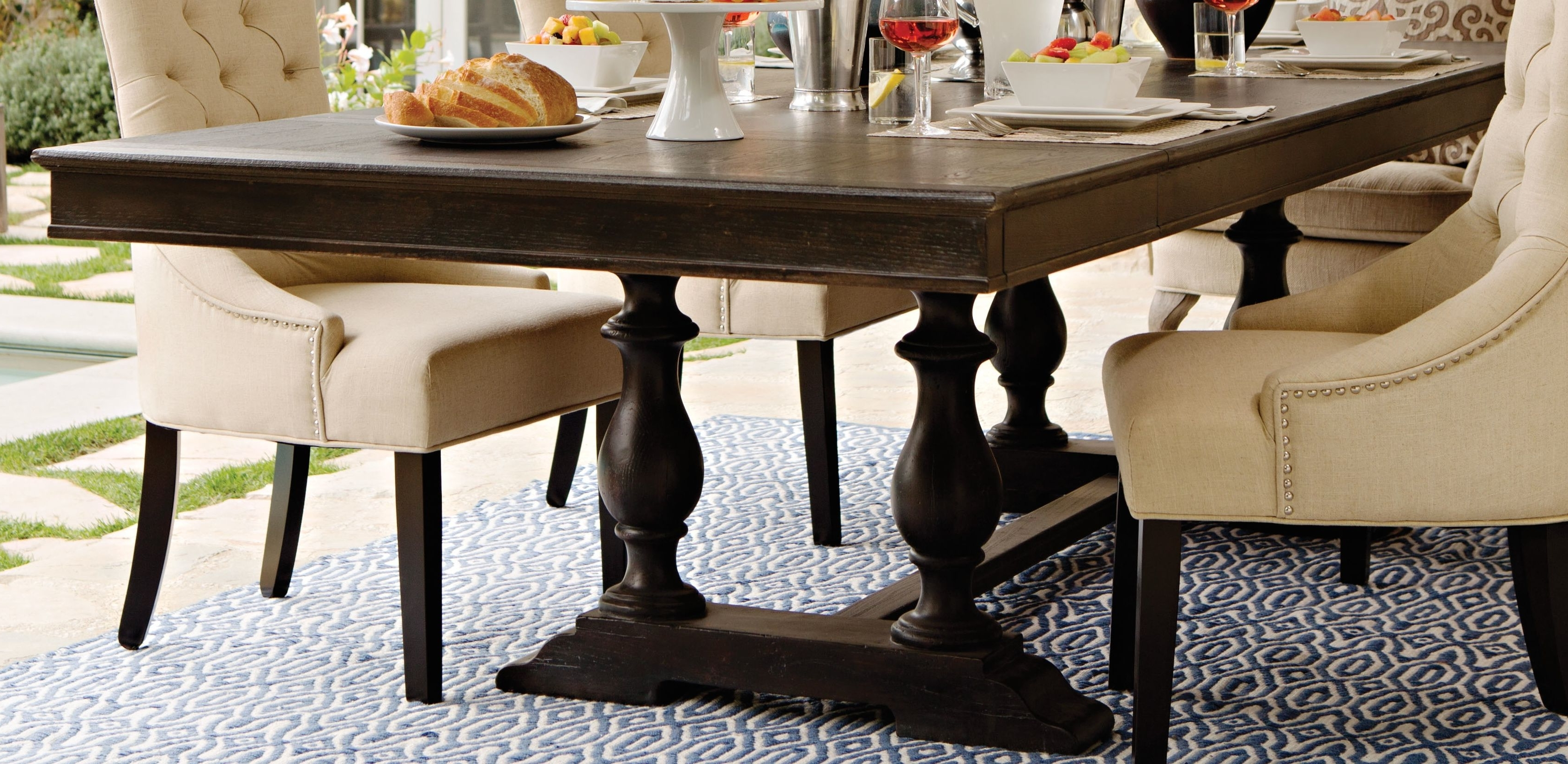 Chapleau Ii 9 Piece Extension Dining Tables With Side Chairs For Newest Chapleau Extension Dining Table (View 5 of 25)