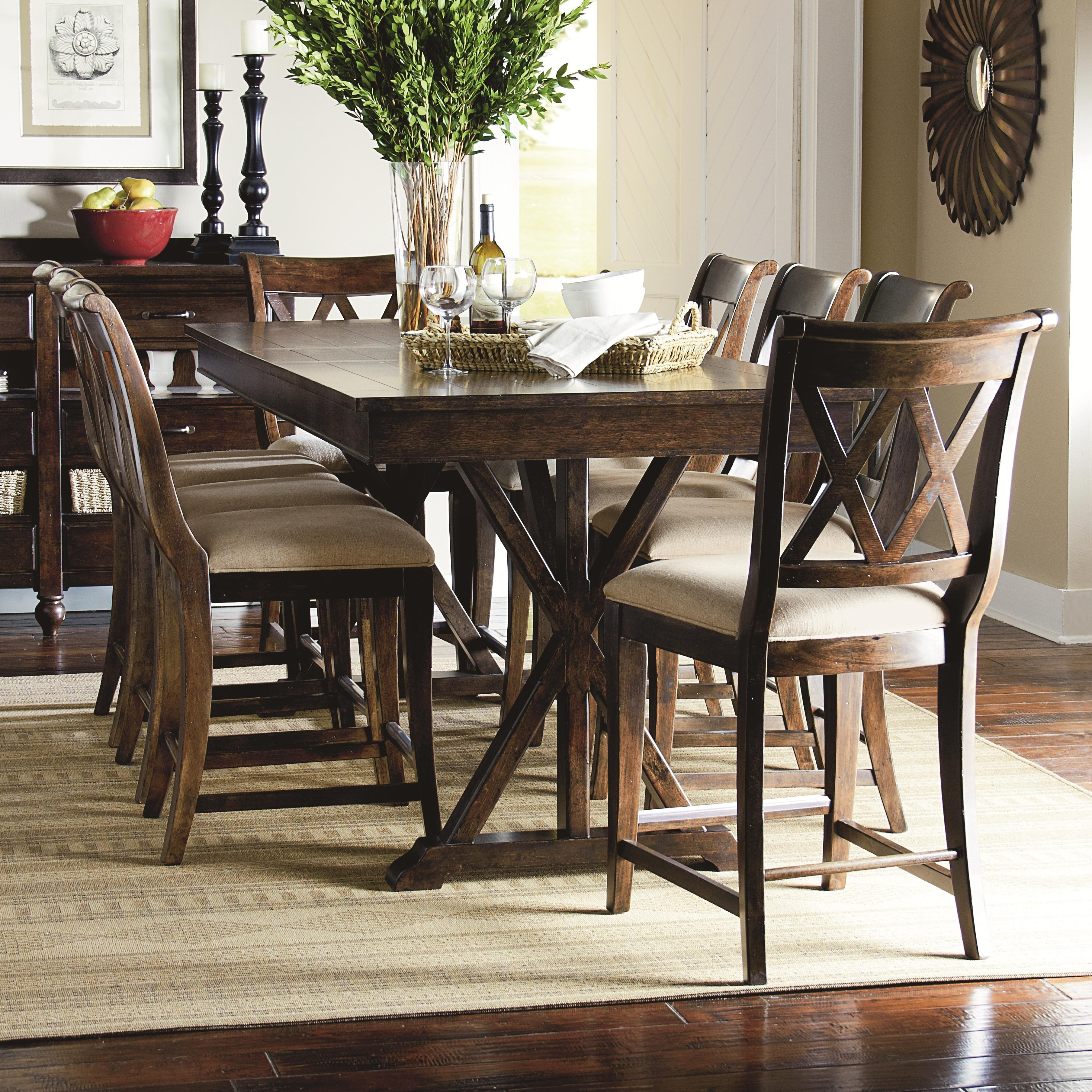 Chapleau Ii 9 Piece Extension Dining Tables With Side Chairs Pertaining To Widely Used Cheery Caira Piece Extension Set Back Chairs Caira Piece Extension (View 18 of 25)