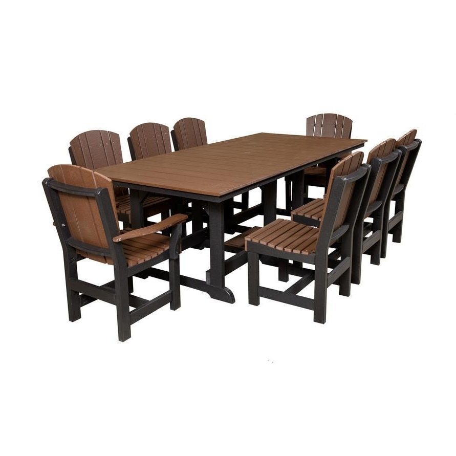 Chapleau Ii 9 Piece Extension Dining Tables With Side Chairs Regarding Most Current Cheery Caira Piece Extension Set Back Chairs Caira Piece Extension (Gallery 21 of 25)