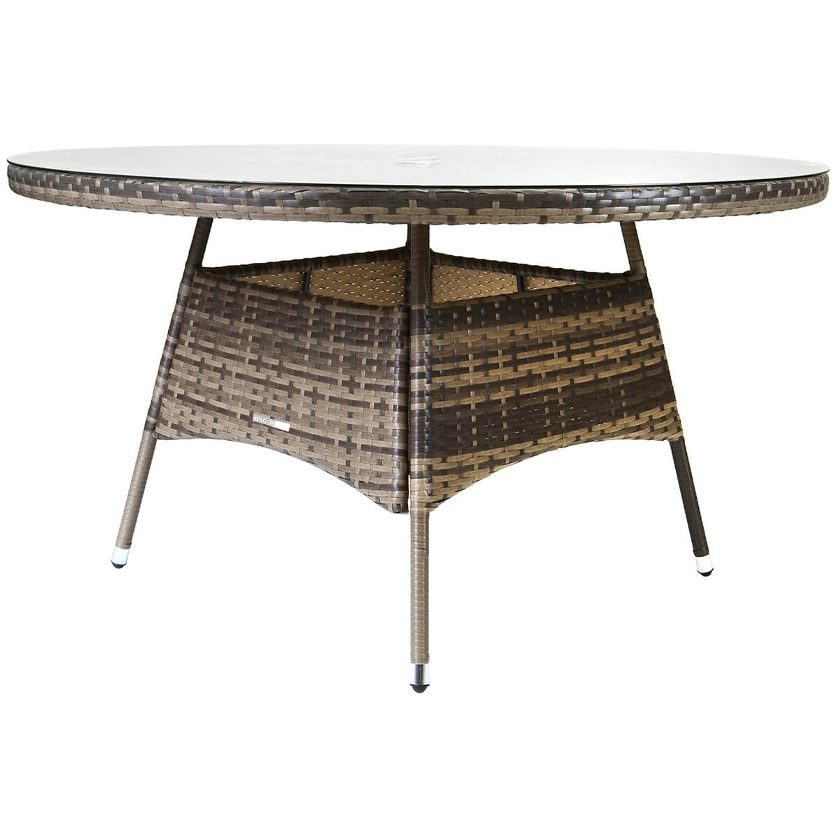 Charles Bentley Large Rattan Dining Table – Buydirect4U Regarding Fashionable Rattan Dining Tables (View 25 of 25)
