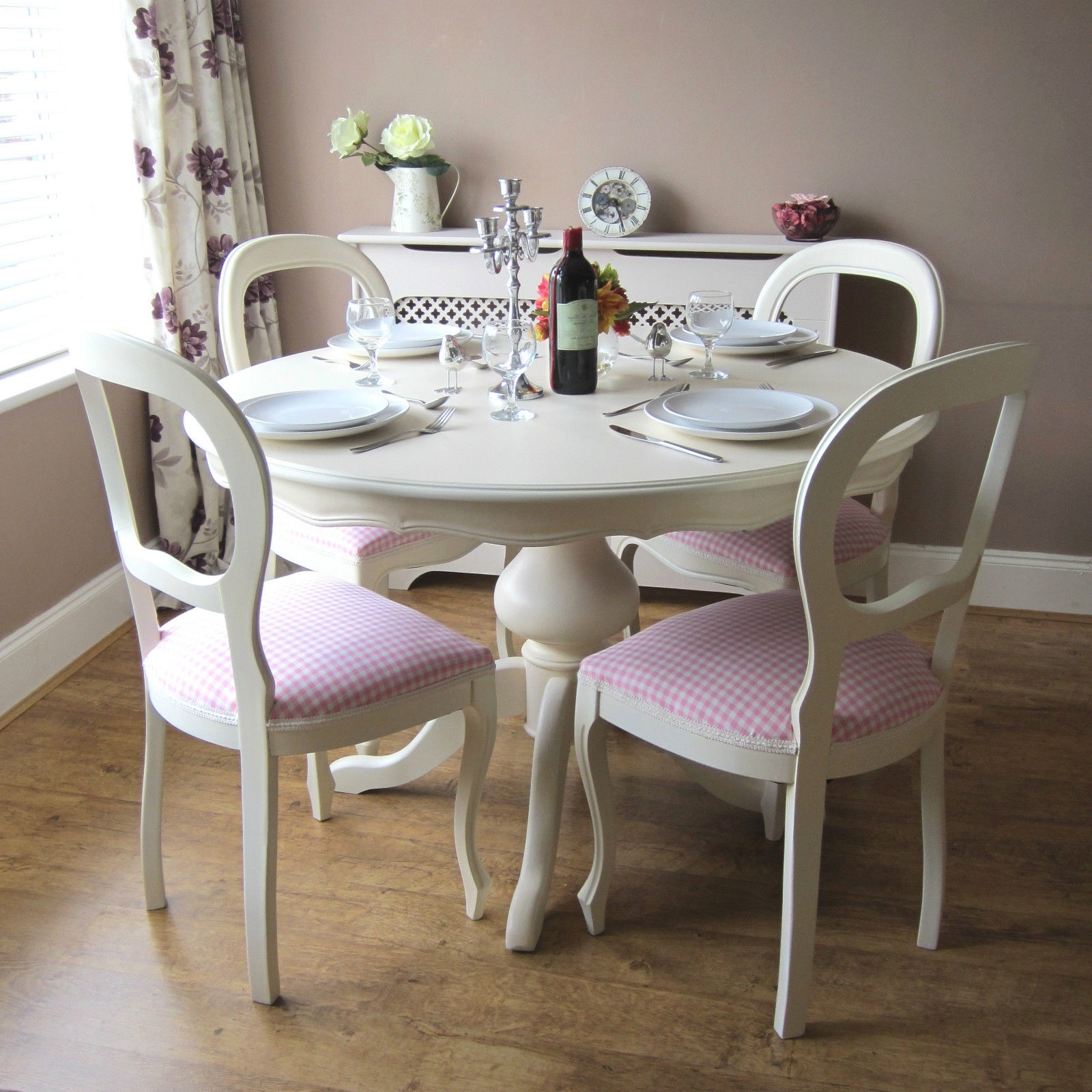Cheap Dining Tables And Chairs With Fashionable Shabby Chic Table And Chairs (Gallery 12 of 25)
