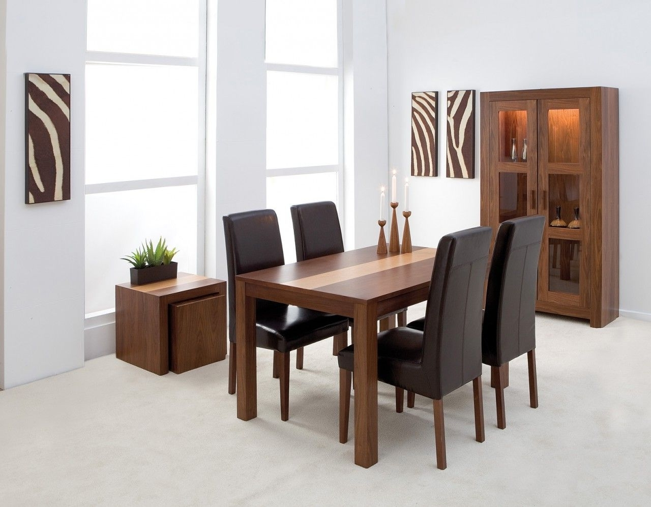 Cheap Dining Tables In Most Recently Released 4 Chair Dining Table Set (View 18 of 25)