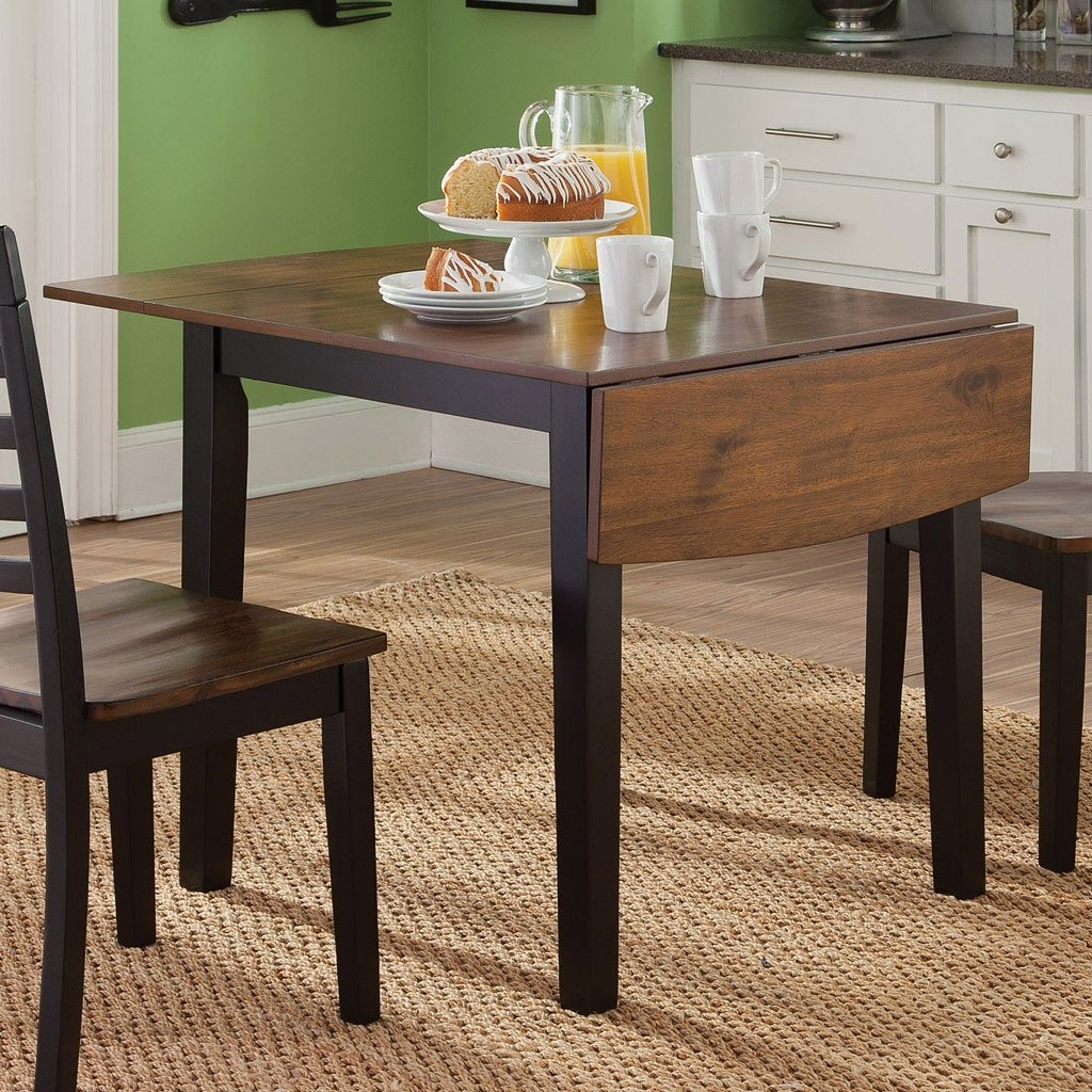 Cheap Drop Leaf Dining Tables Within Well Known Cafe Drop Leaf Dining Table Liberty Furniture (View 10 of 25)