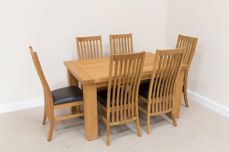 Cheap Oak Dining Sets Inside Well Known Cheap Oak Dining Set (Gallery 9 of 25)