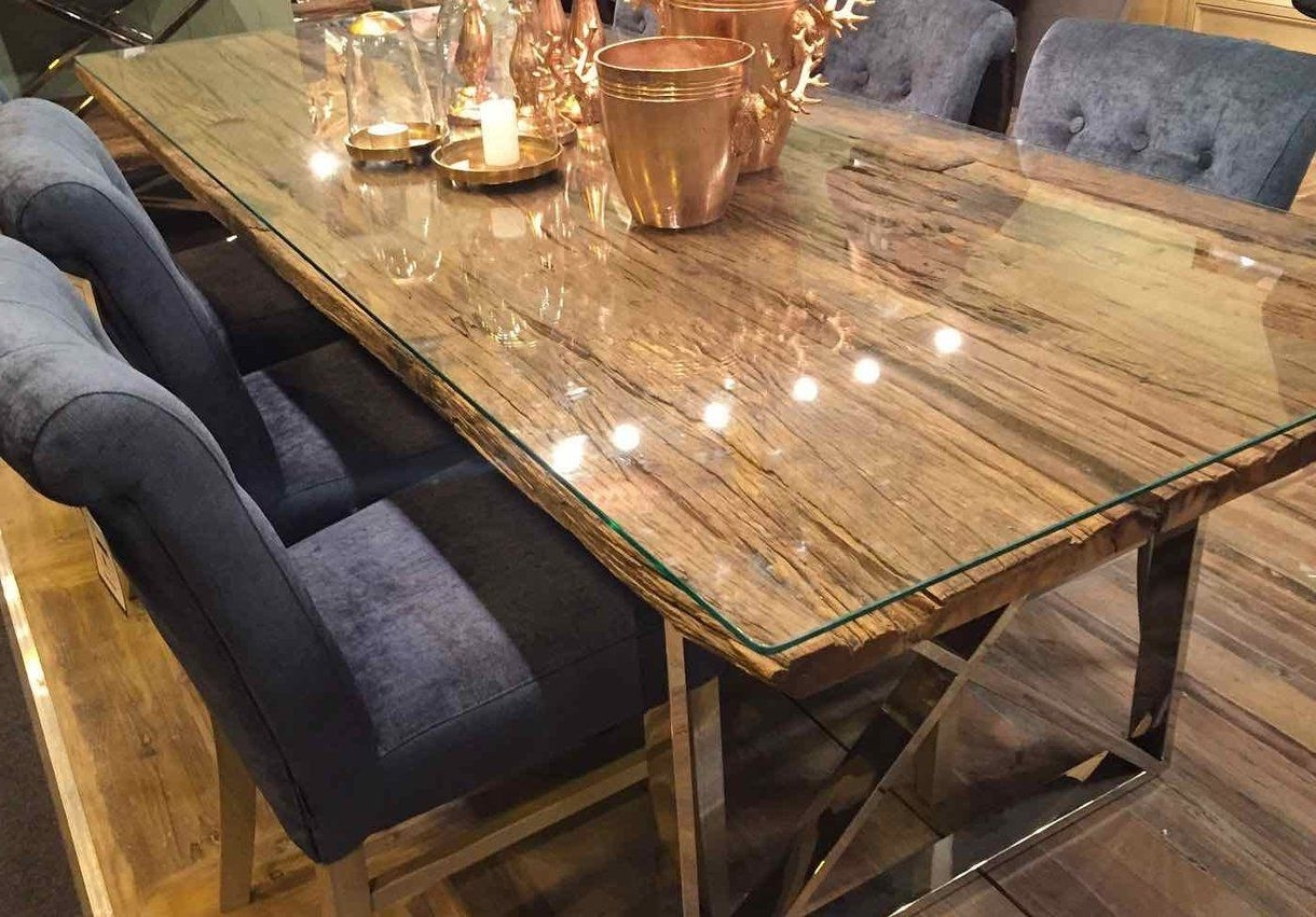 Cheap Reclaimed Wood Dining Tables For Fashionable Luxe Kensington Reclaimed Wood Dining Table (View 8 of 25)