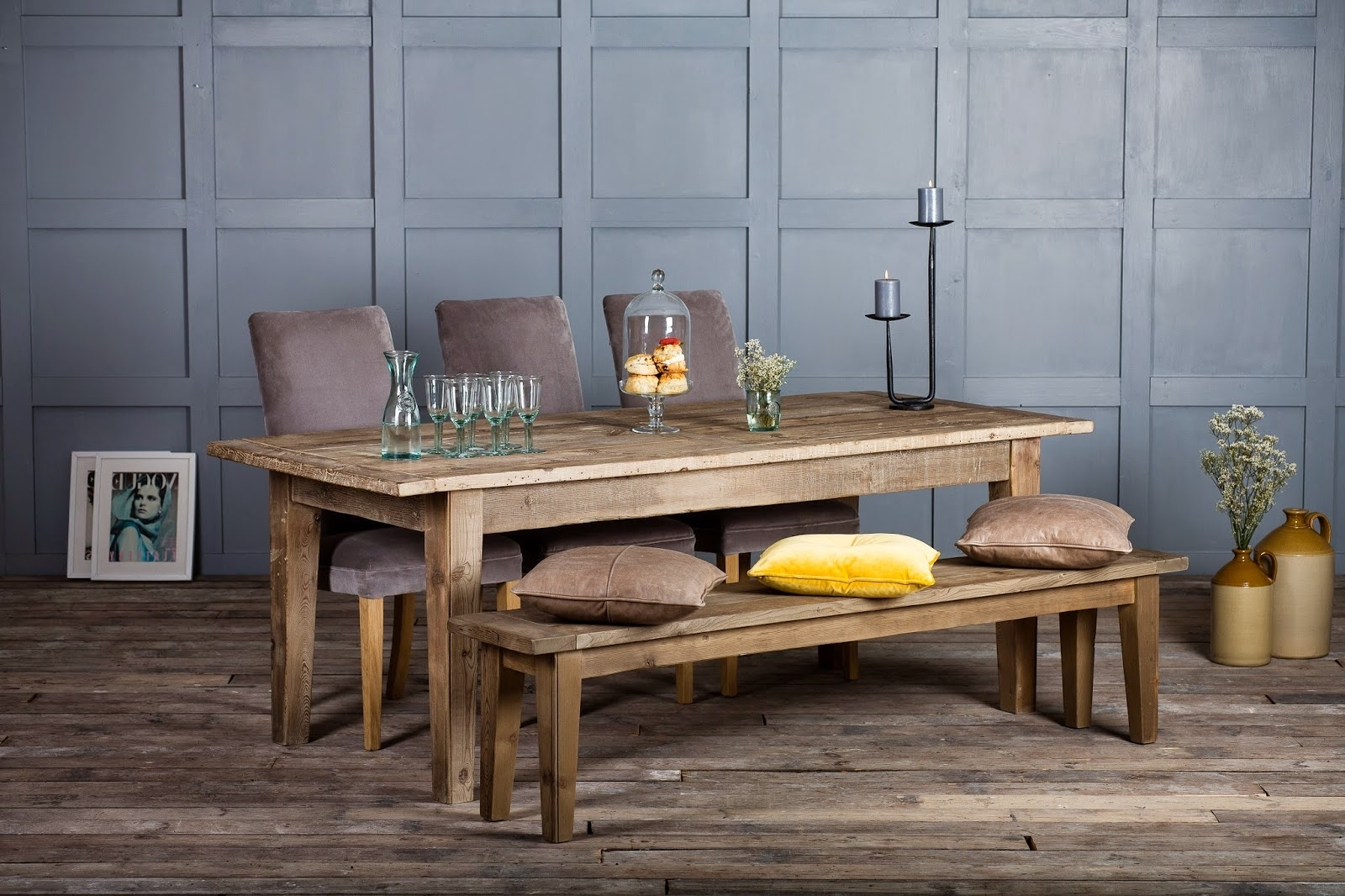 Cheap Reclaimed Wood Dining Tables Regarding Well Liked The Authentic Furniture Blog: Why You Should Buy A Reclaimed Wood (View 9 of 25)