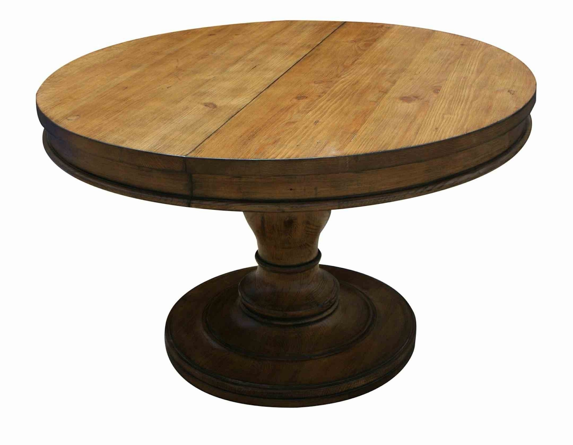 Cheap Round Dining Tables Regarding Trendy Cheap Rustic Round Extendable Dining Table Along With Made In (View 5 of 25)