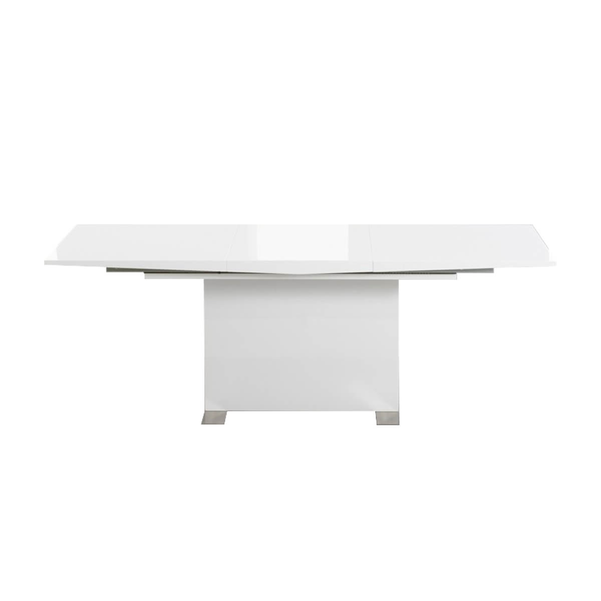 Cheap White High Gloss Dining Tables Inside 2018 Marila 6 8 Seater White High Gloss Extending Dining Table (View 3 of 25)