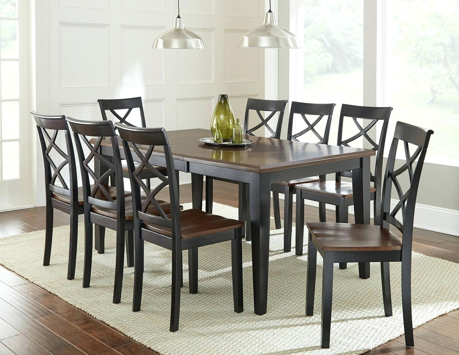 Cheery Caira Piece Extension Set Back Chairs Caira Piece Extension Intended For Most Current Chapleau Ii 9 Piece Extension Dining Tables With Side Chairs (View 9 of 25)