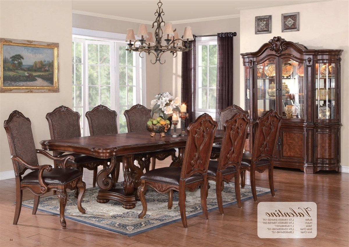 Cheery Caira Piece Extension Set Back Chairs Caira Piece Extension Throughout Recent Chapleau Ii 9 Piece Extension Dining Table Sets (View 19 of 25)