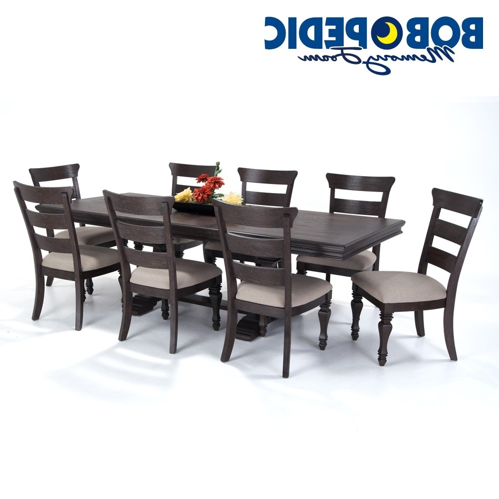 Cheery Caira Piece Extension Set Back Chairs Caira Piece Extension With Regard To Most Current Chapleau Ii 9 Piece Extension Dining Tables With Side Chairs (View 15 of 25)