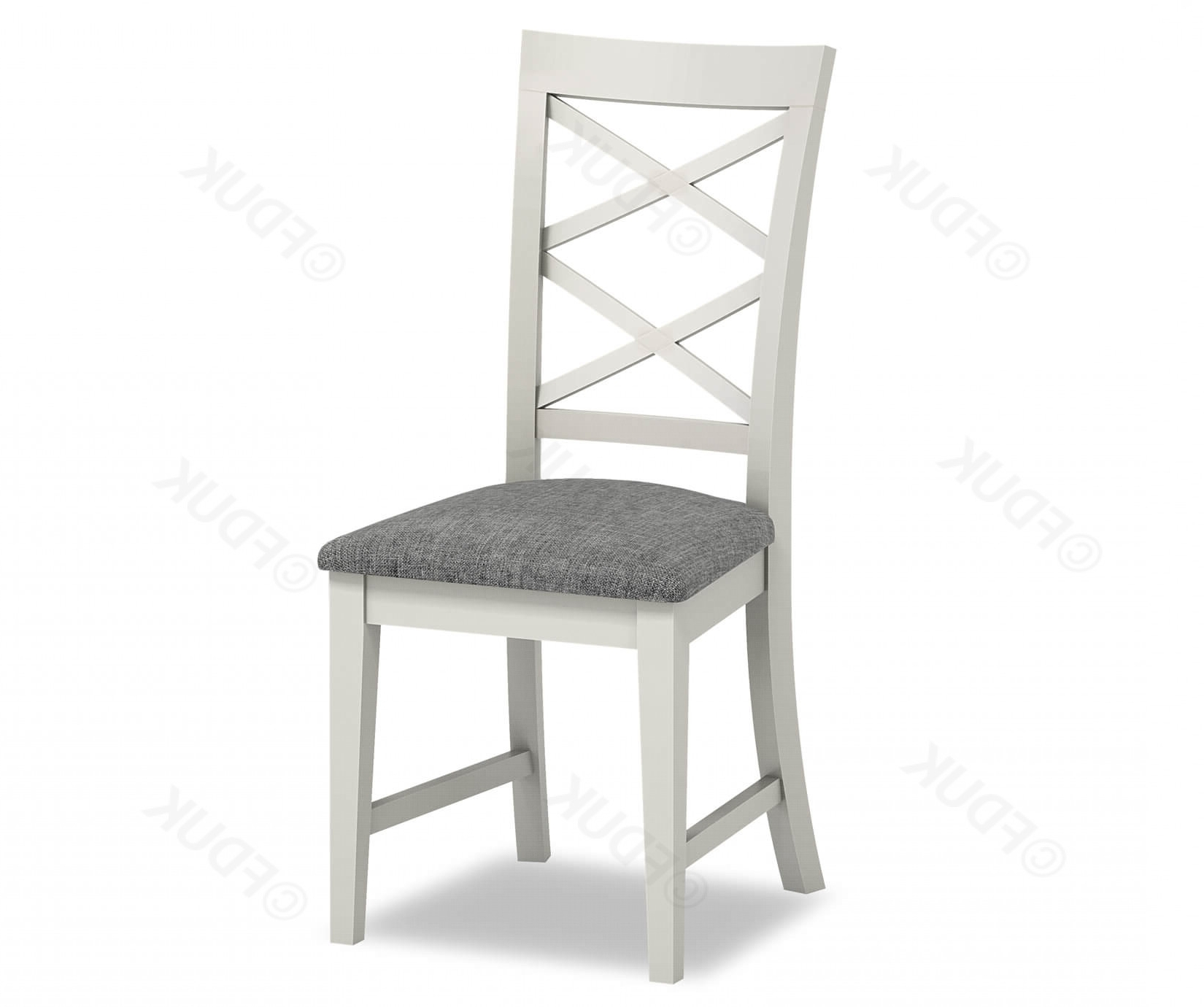 Chester Cross Back Dining Chair Regarding Chester Dining Chairs (Gallery 2 of 25)