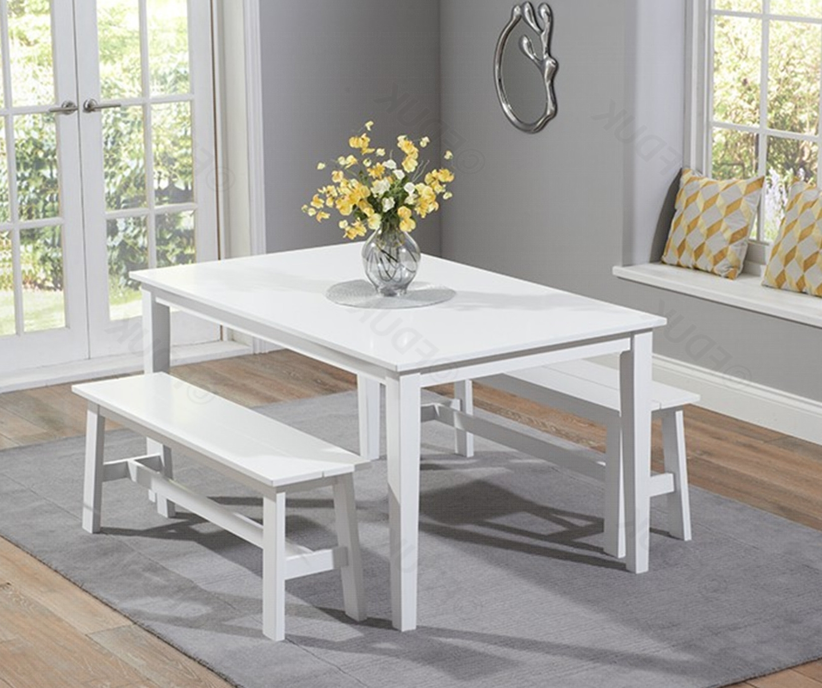 Chichester Dining Table With 2 Large (View 8 of 25)
