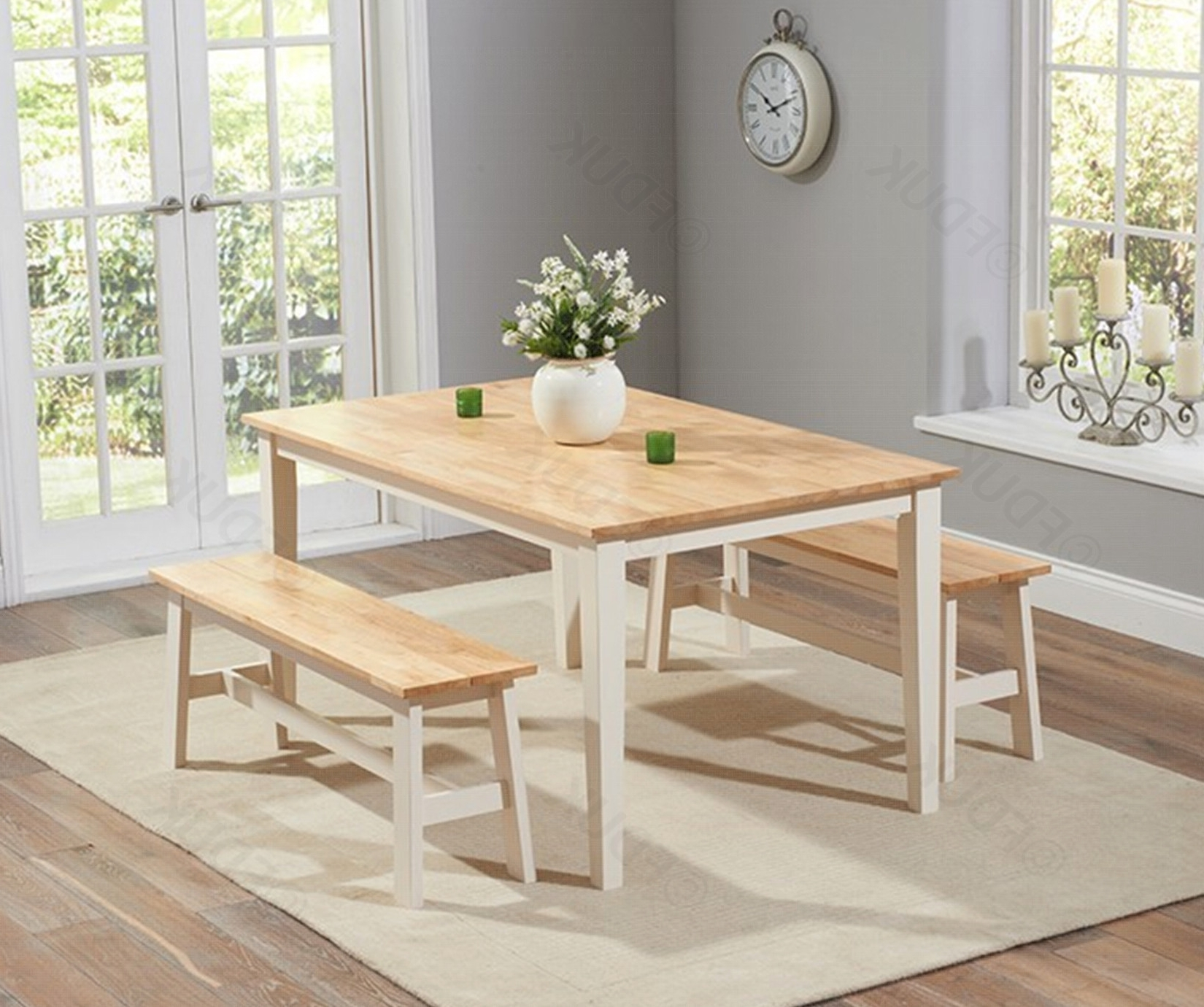 Chichester Dining Table With 2 Large (View 3 of 25)