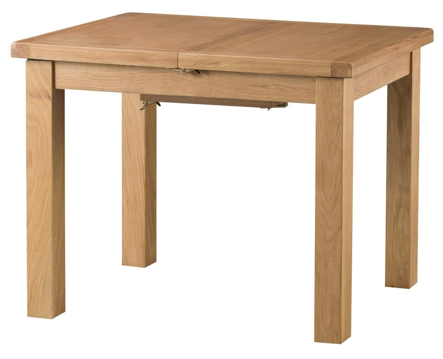 Chichester Oak Small Butterfly Extending Dining Table In Light Oak Intended For Recent Chichester Dining Tables (View 14 of 25)
