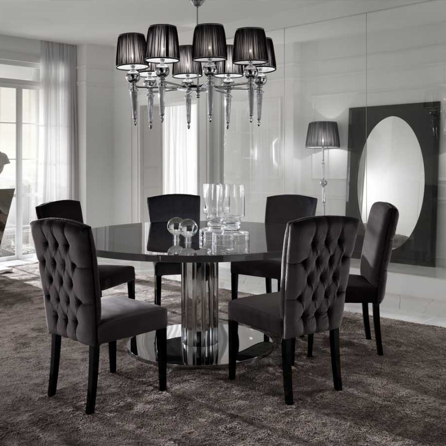 Chrome Dining Room Chairs Lovely Chrome Dining Room Chairs – Home Inside Most Recent Chrome Dining Room Chairs (Gallery 20 of 25)