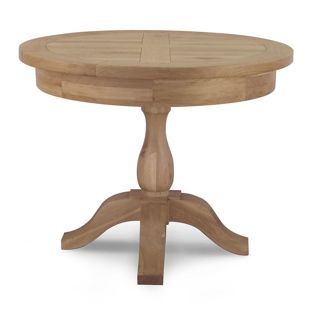 Circular Oak Dining Tables In Well Liked Tuscany Round Dining Table – Willis & Gambier (Gallery 19 of 25)