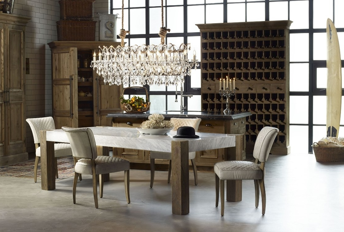 Coastal Dining Tables For Well Liked Furniture Inspiration – Coastal Dining Causeway (View 13 of 25)