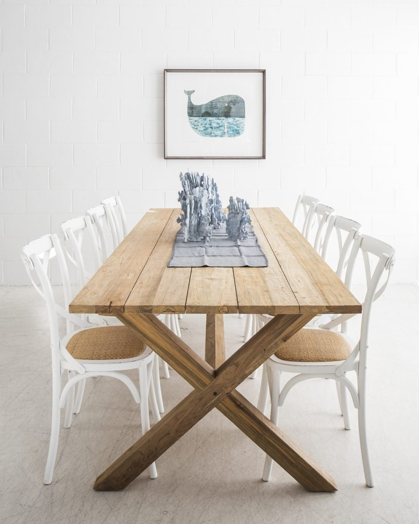Coastal Dining Tables Throughout 2018 The Dining Room With The Beach Furniture – The Beach Furniture (View 12 of 25)