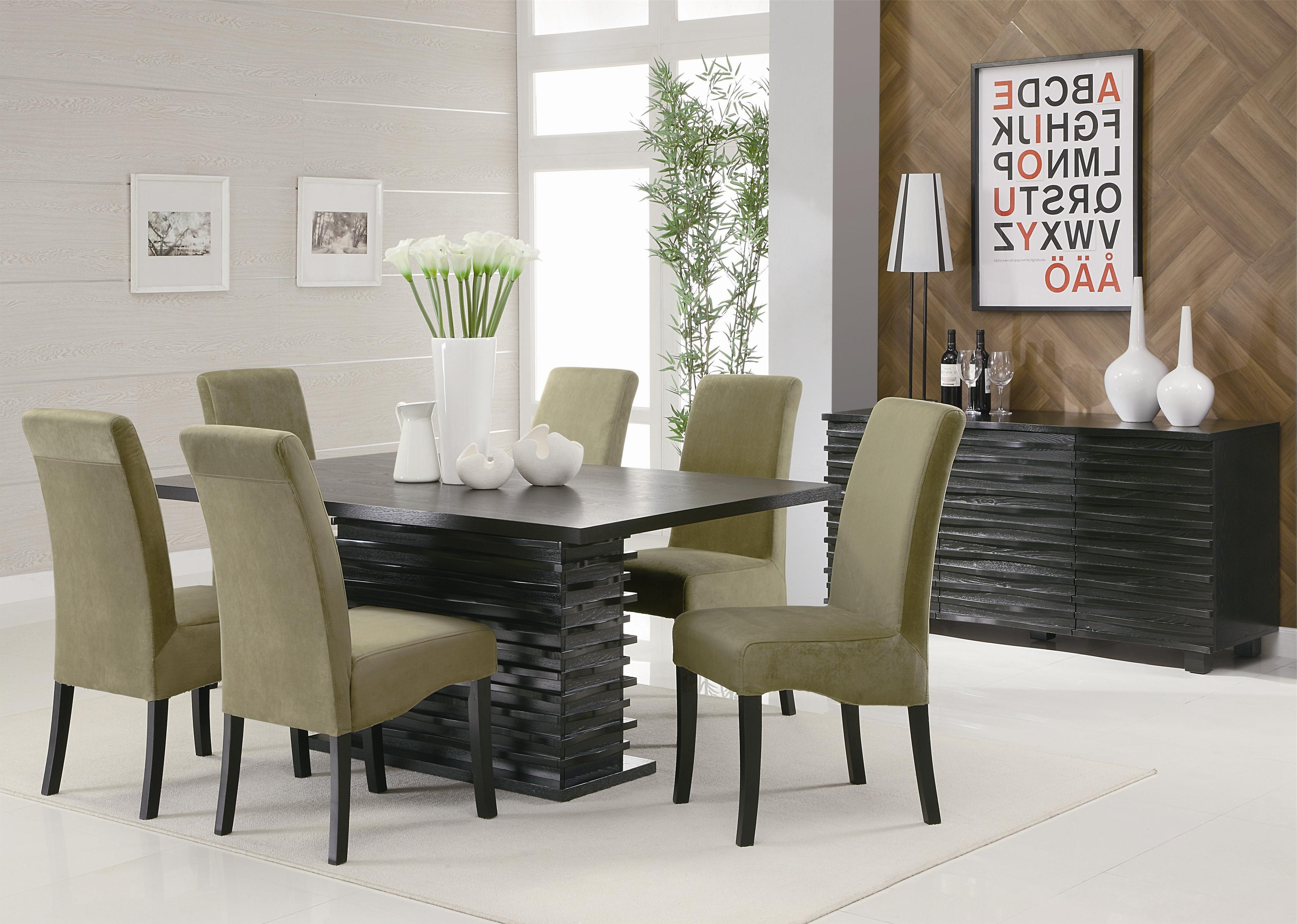 Coaster Stanton Contemporary Dining Table – Coaster Fine Furniture Regarding Most Recently Released Contemporary Dining Room Tables And Chairs (View 6 of 25)