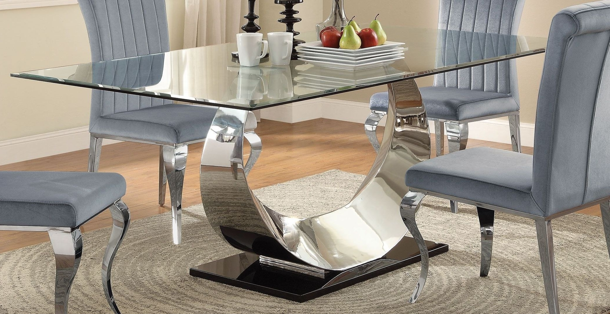 Coleman Furniture With Regard To Most Current Chrome Dining Room Sets (Gallery 25 of 25)