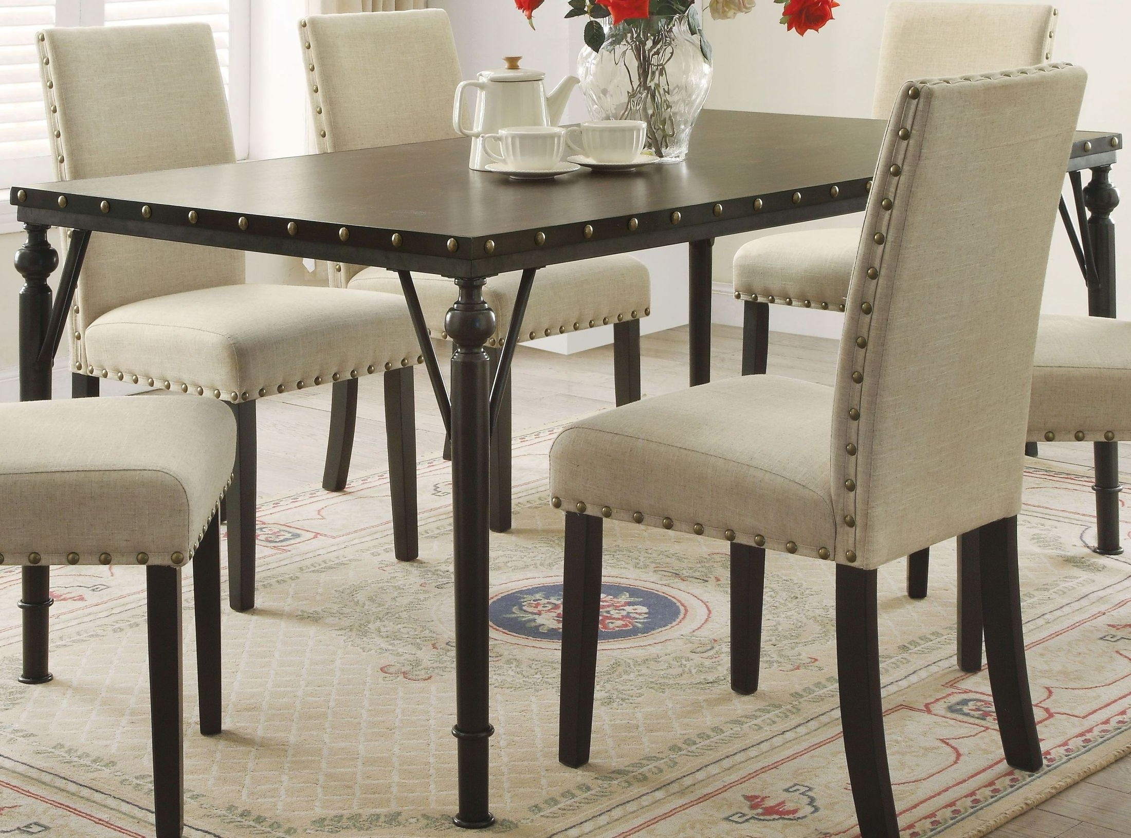 Coleman Furniture With Well Liked Carly Rectangle Dining Tables (View 15 of 25)