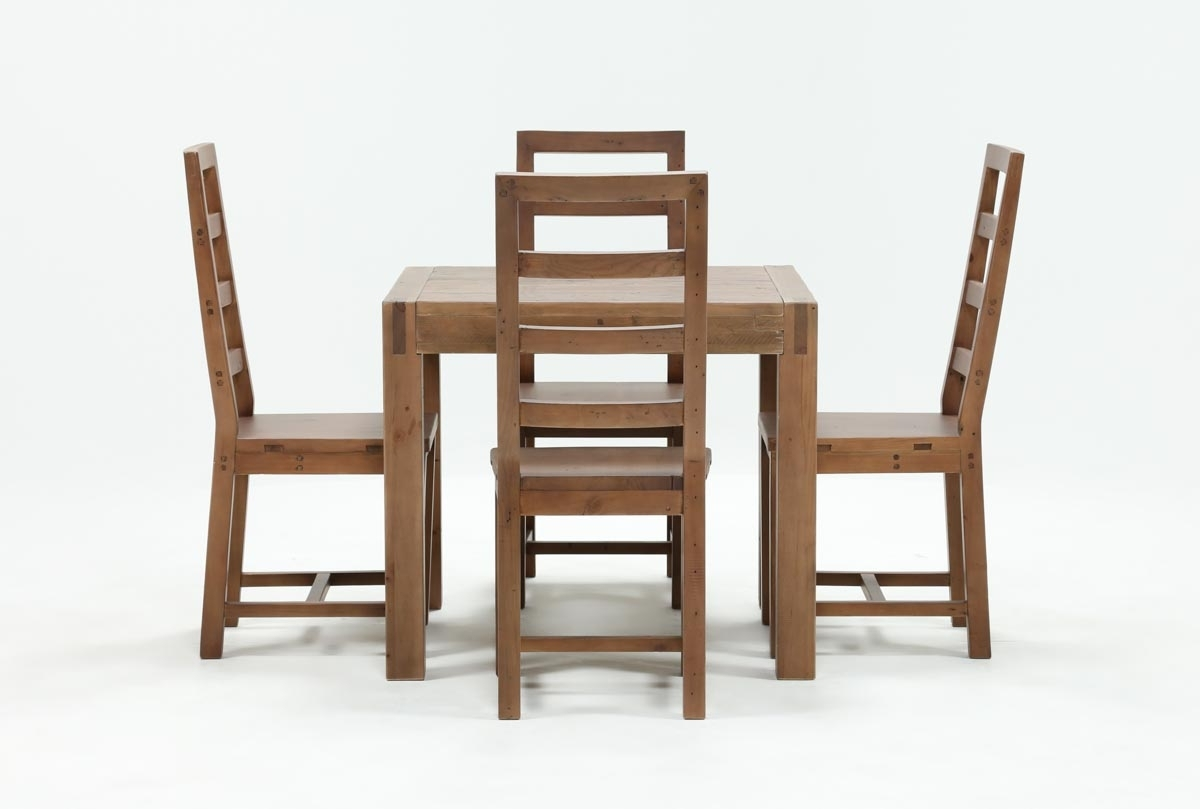 Combs 5 Piece Dining Sets With Mindy Slipcovered Chairs Intended For Most Up To Date Crawford 5 Piece Square Dining Set (View 9 of 25)
