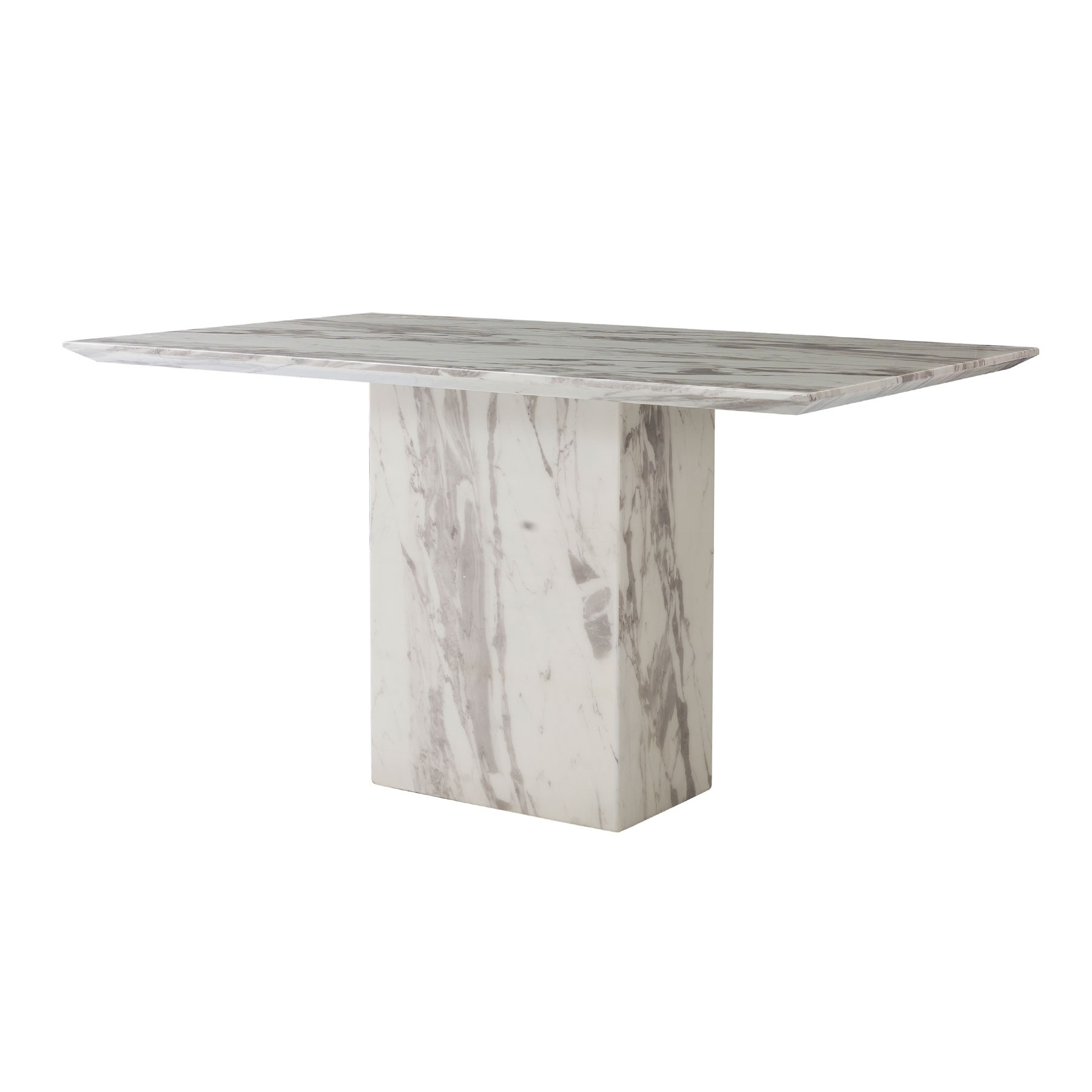 Como Grey Marble 140Cm Dining Table In Recent Como Dining Tables (Gallery 19 of 25)
