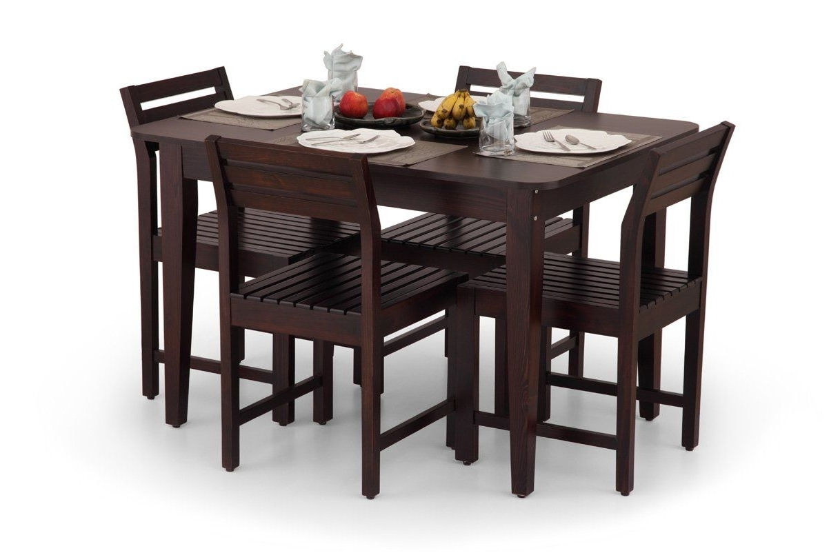 Compact Dining Sets Regarding Newest Brilliant Buy Compact Elegant Dining Table Set Dinner Table Set For (Gallery 9 of 25)