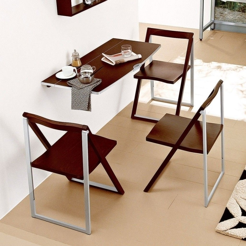 Compact Dining Sets Within Best And Newest Foundation Dezin & Decor: Compact Dining Set. (Gallery 4 of 25)