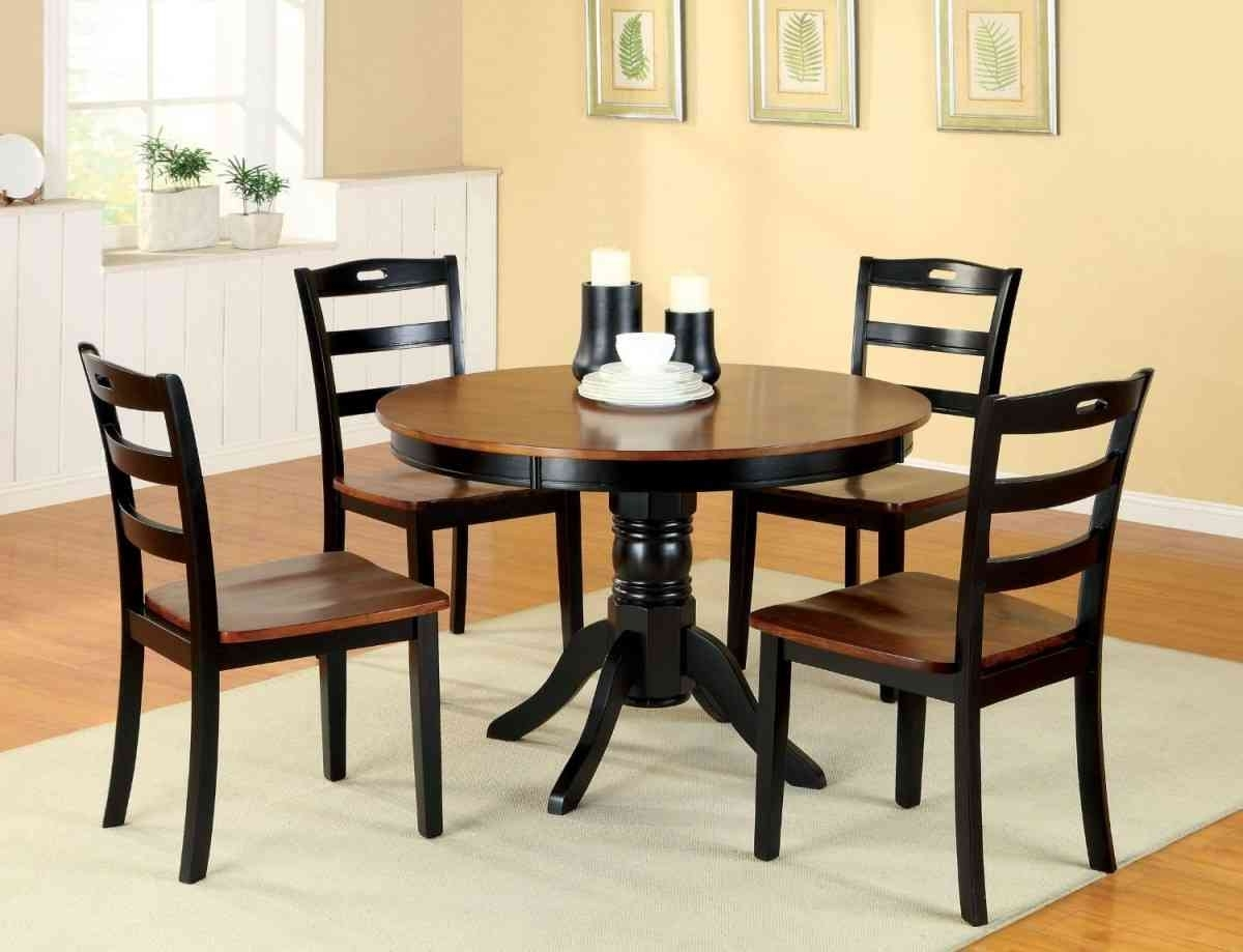 Compact Dining Table And Chair Sets – Castrophotos With Regard To Most Recently Released Compact Dining Room Sets (Gallery 17 of 25)