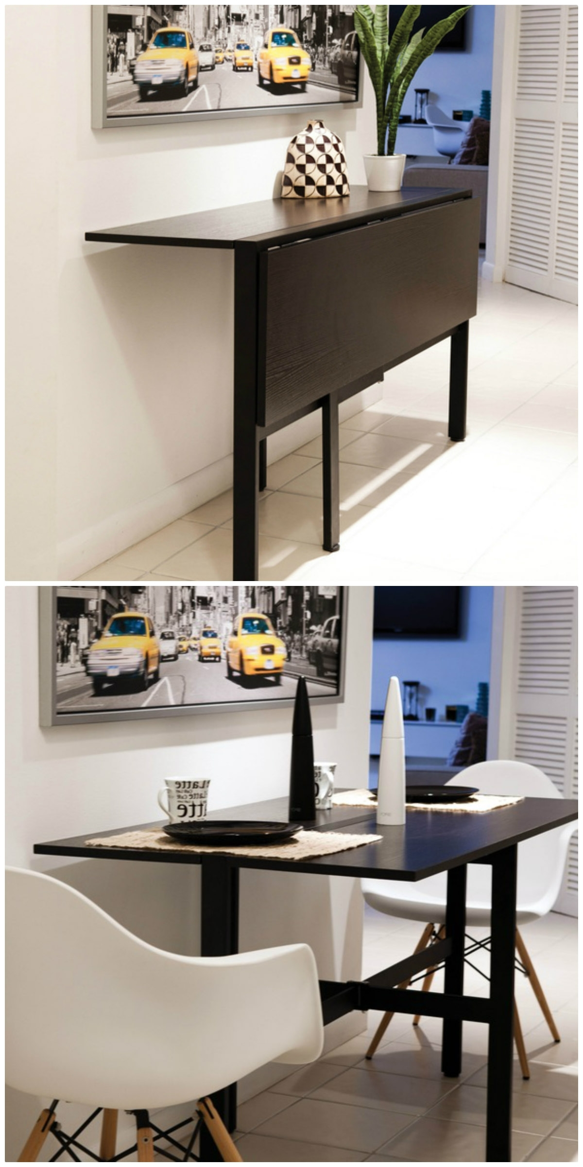 Compact Dining Tables Pertaining To Best And Newest Twenty Dining Tables That Work Great In Small Spaces – Living In A (View 9 of 25)