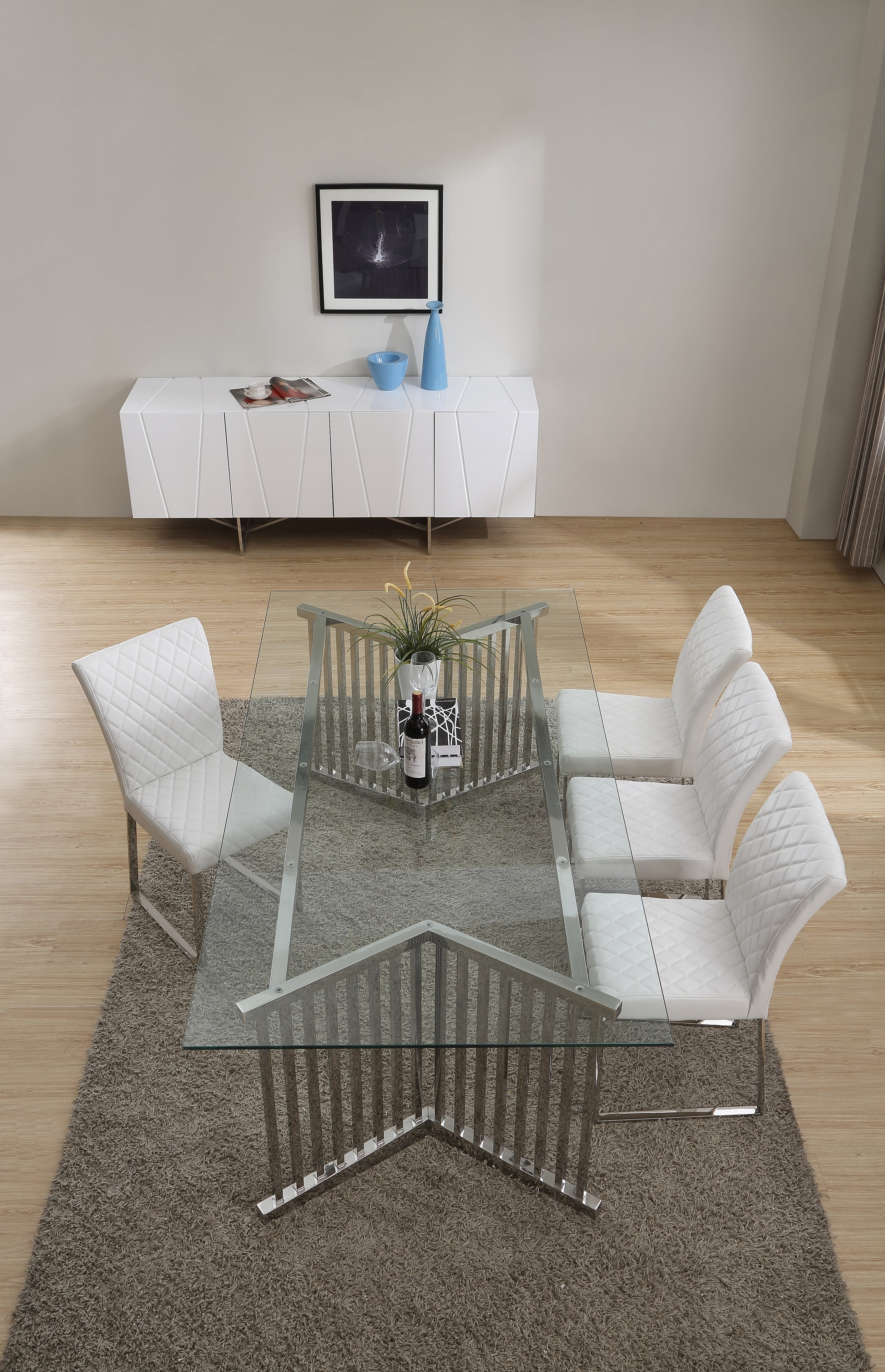 Contemporary Base Dining Tables With Best And Newest Orren Ellis Camron Contemporary Metal Base Dining Table (View 9 of 25)