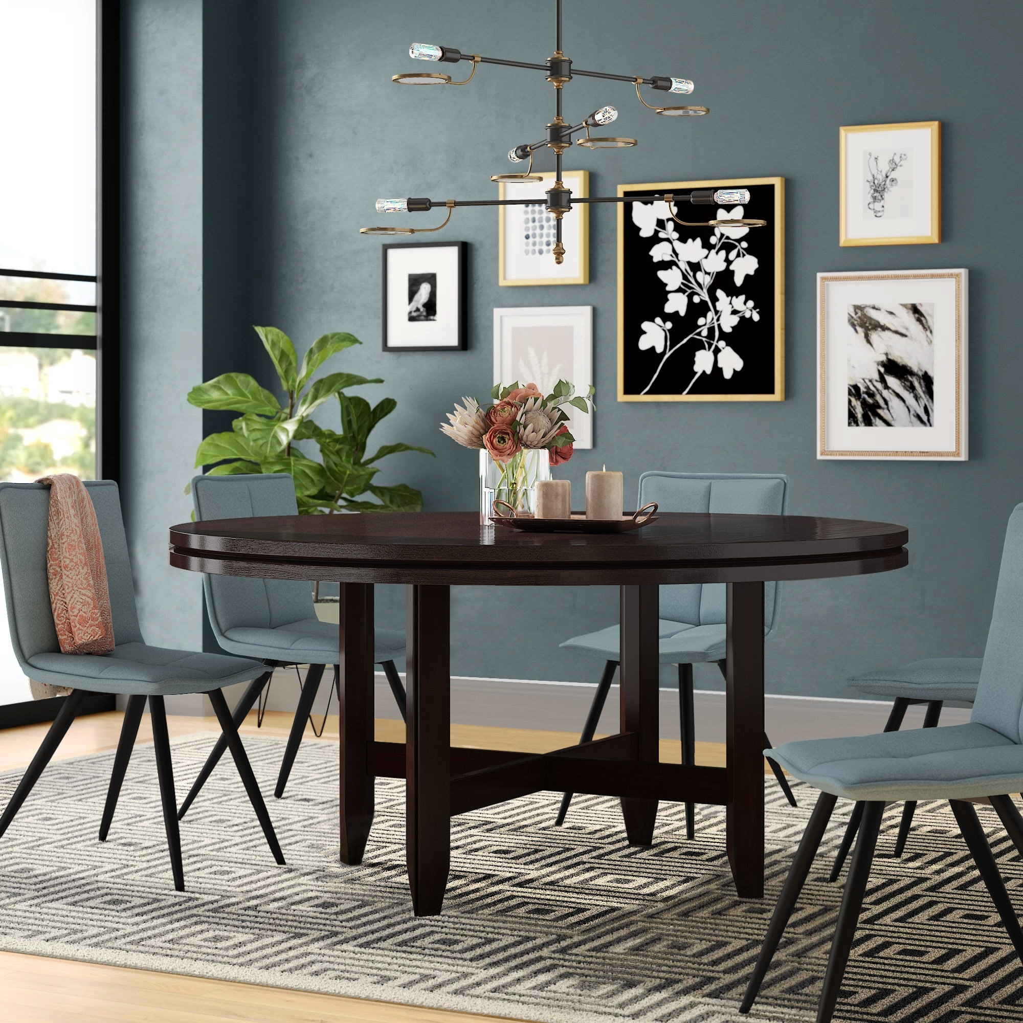 Contemporary Dining Furniture With Regard To Best And Newest Winston Porter Fenley Contemporary Dining Table & Reviews (View 10 of 25)