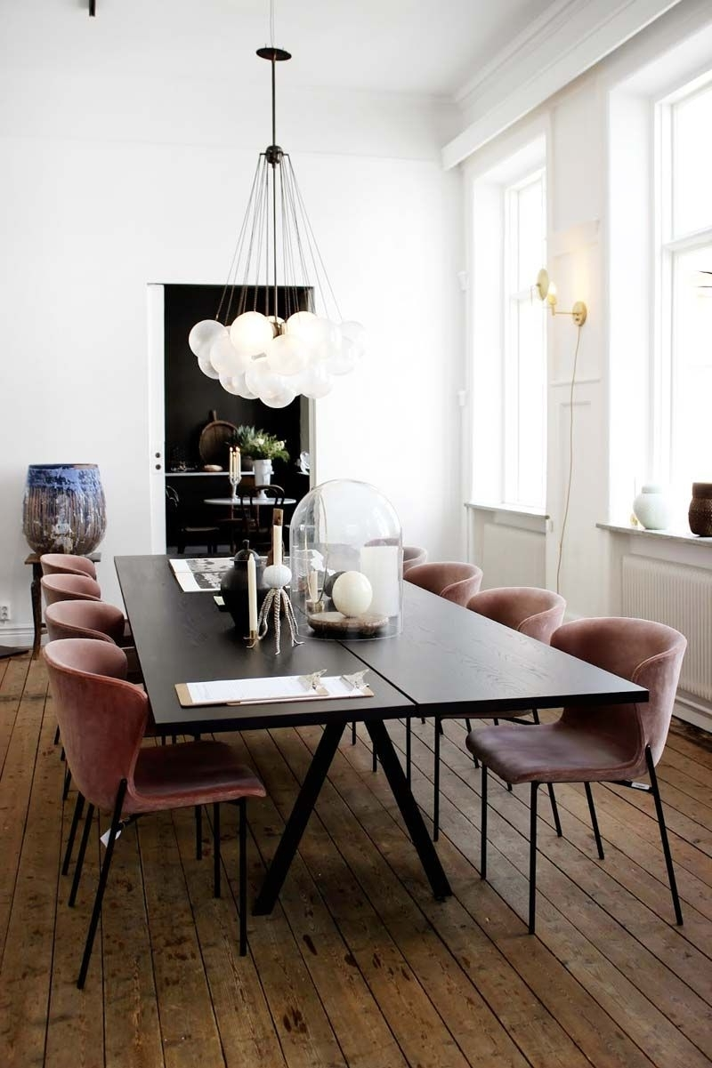 Contemporary Dining Room Chairs Inside Latest Swell Seasonal: Fall Home Decor Edit (View 7 of 25)