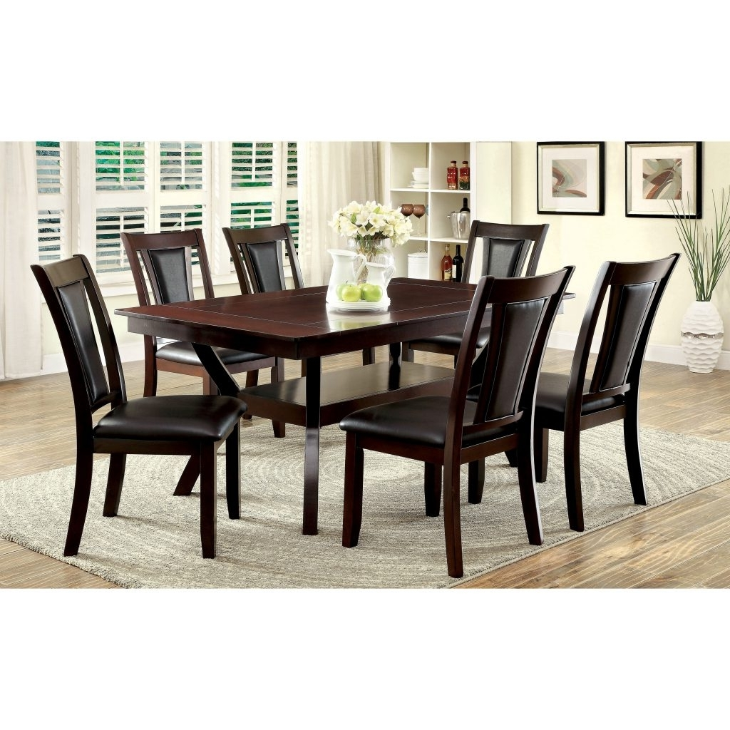 Contemporary Dining Sets For Latest Dining Room Chair : Table Chairs Glass Dining Table And Chairs (Gallery 21 of 25)