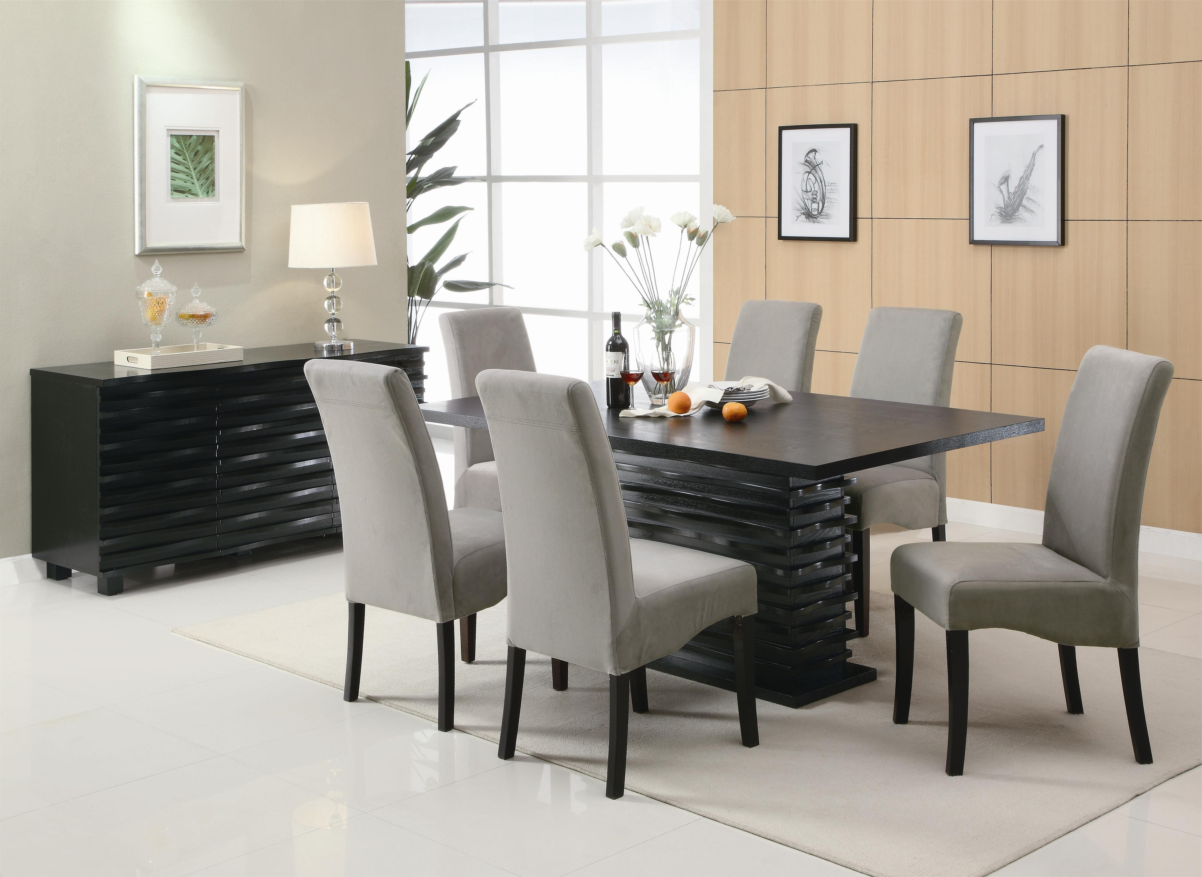 Contemporary Dining Sets Inside Favorite Coaster Stanton Contemporary Dining Table – Coaster Fine Furniture (View 11 of 25)