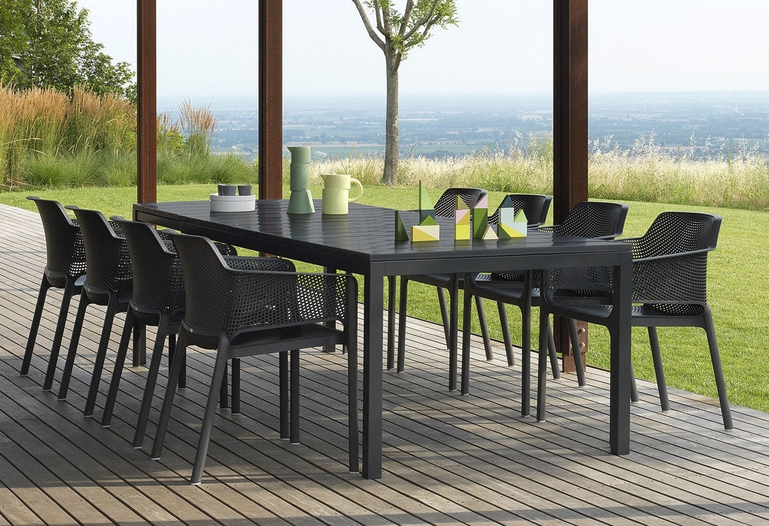 Contemporary Dining Table / Polypropylene / Rectangular / Garden Within Popular Rio Dining Tables (View 6 of 25)