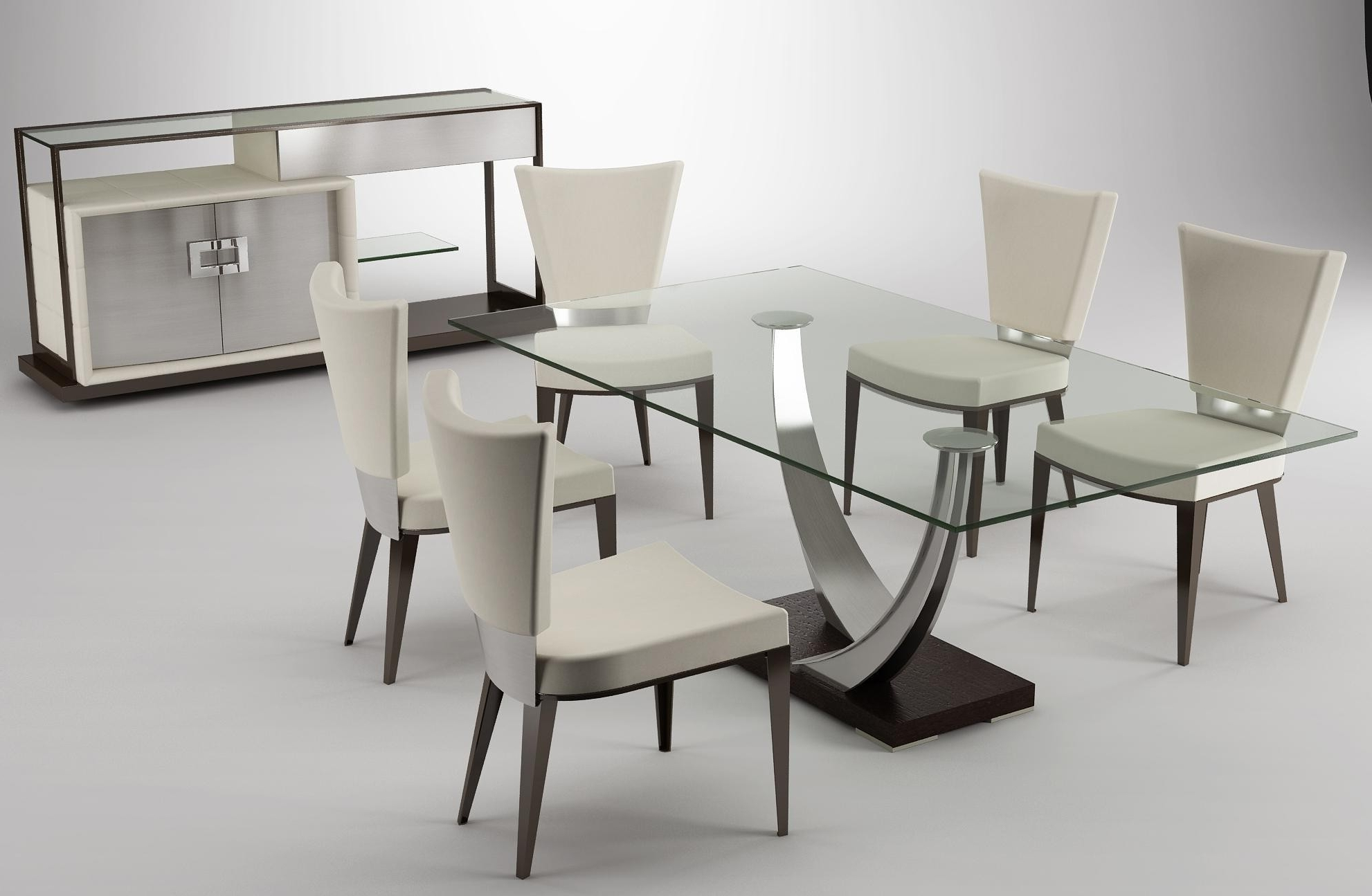 Contemporary Dining Tables Sets Inside Preferred Contemporary Round Glass Dining Table Best Of Glass Top Dining Table (View 13 of 25)